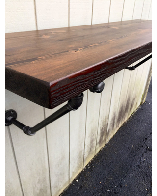 wall mounted table the lodge mantel wall mounted bar table shelf reclaimed wood bookshelf KJPHWJB