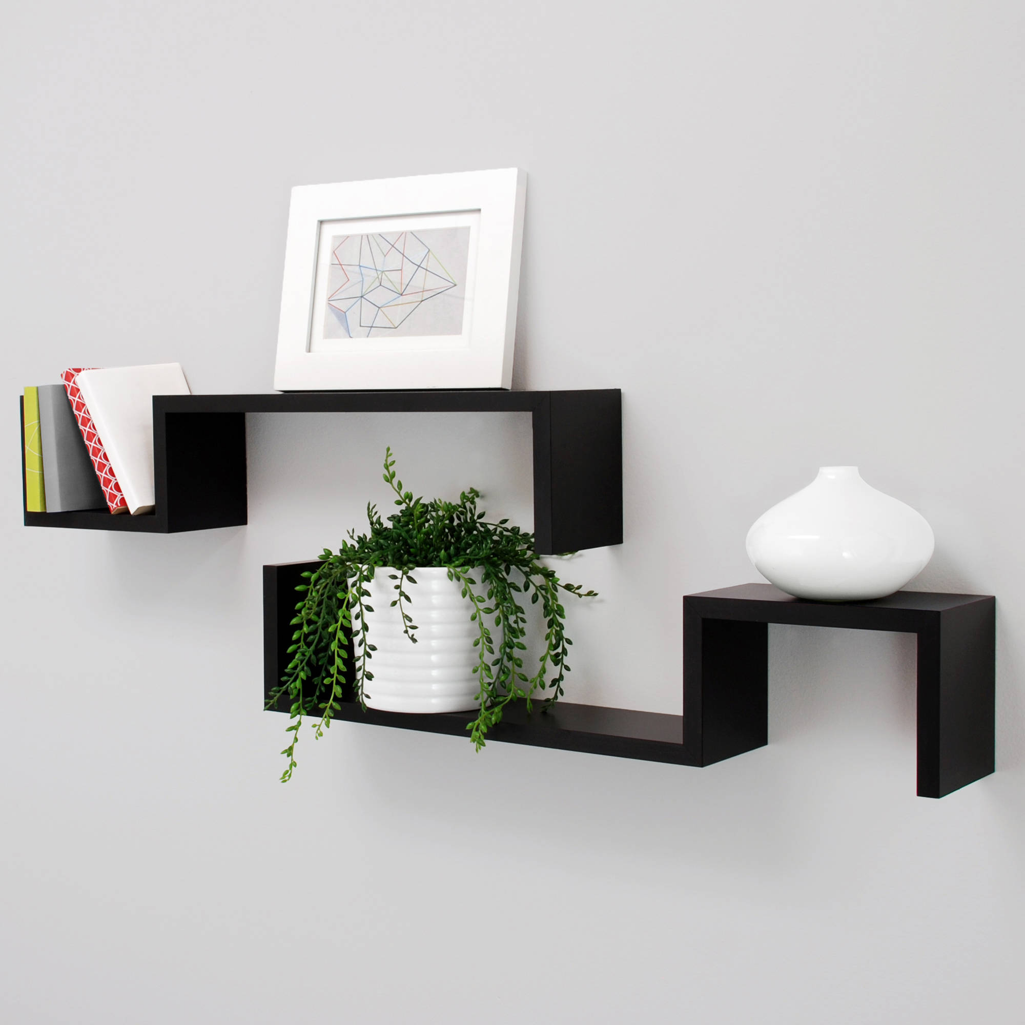 Wall Shelf for Aesthetic Appeal and Necessities