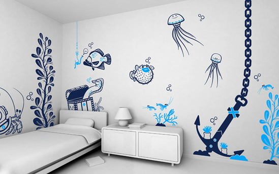 walls decoration ideas stylish wall decoration kids-room-wall-decoration-7 kxcytne XYCKPBQ
