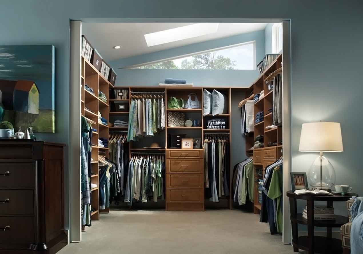 wardrobe systems closet with lots of natural daylight SUCIWNZ