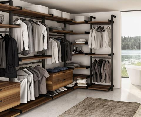 wardrobe systems huppé 9300 gravity wardrobe system ISXBXER