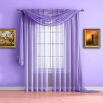 Purple Curtains for You Windows