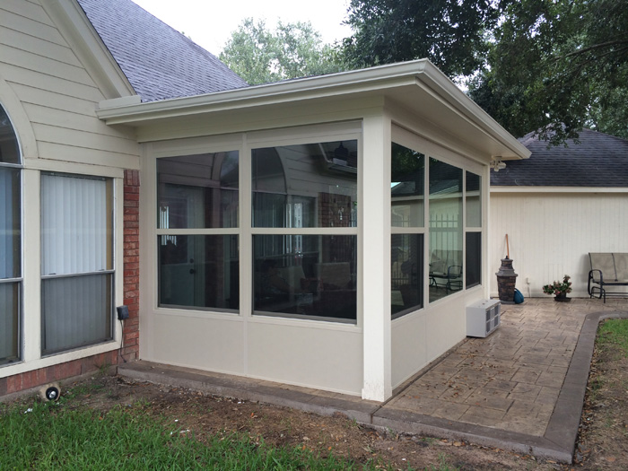 what kinds of patio enclosures to choose? XZHZWSV