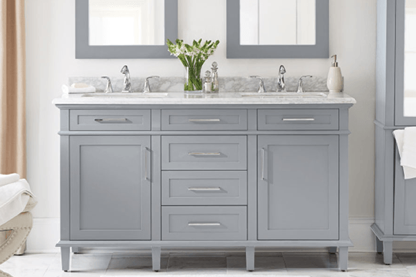 white bathroom vanity transitional bathroom vanities KVBTHZC