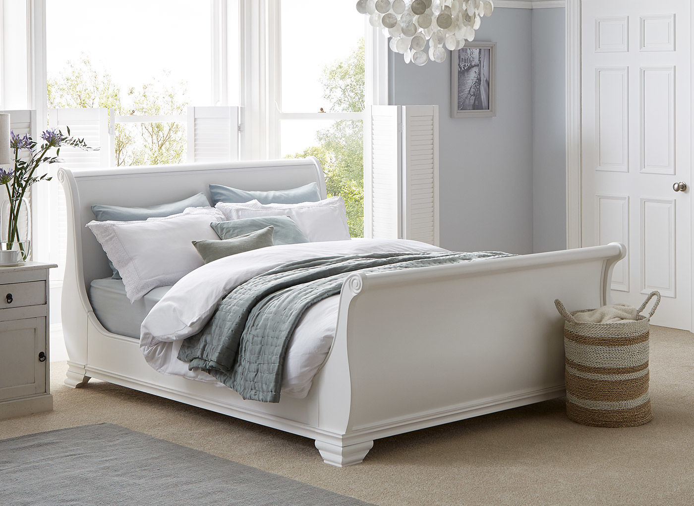 white beds orleans white wooden bed frame | dreams MEITKCU