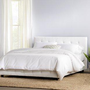 white beds salina upholstered platform bed SWTYGGI