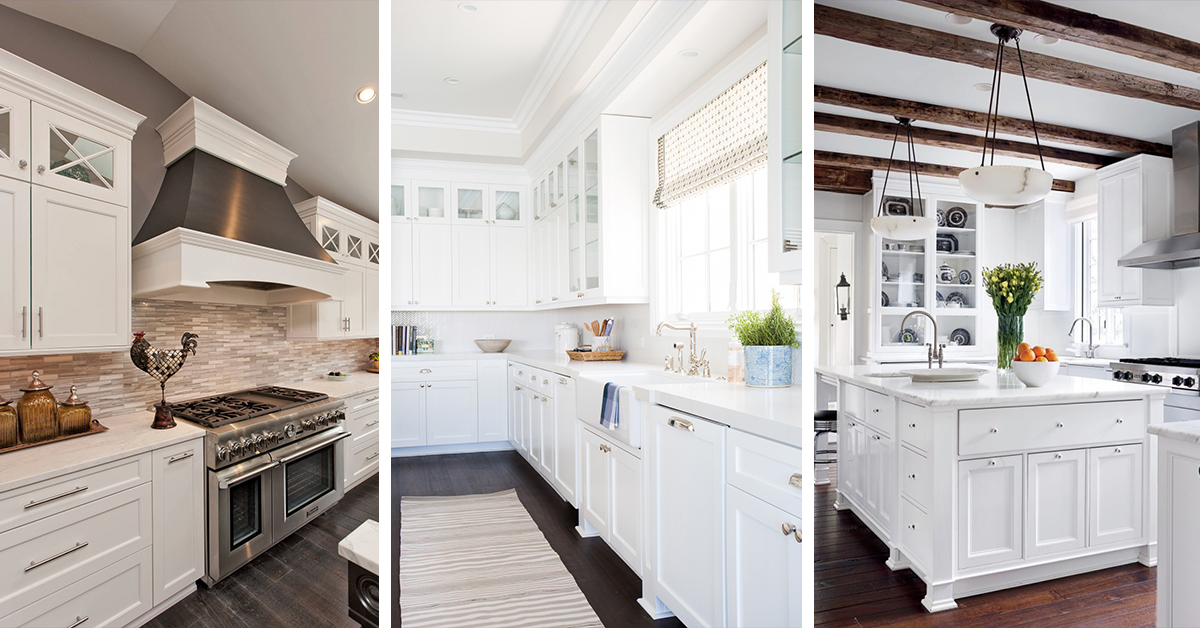 white kitchen cabinets 46 best white kitchen cabinet ideas for 2018 WOCYXKB