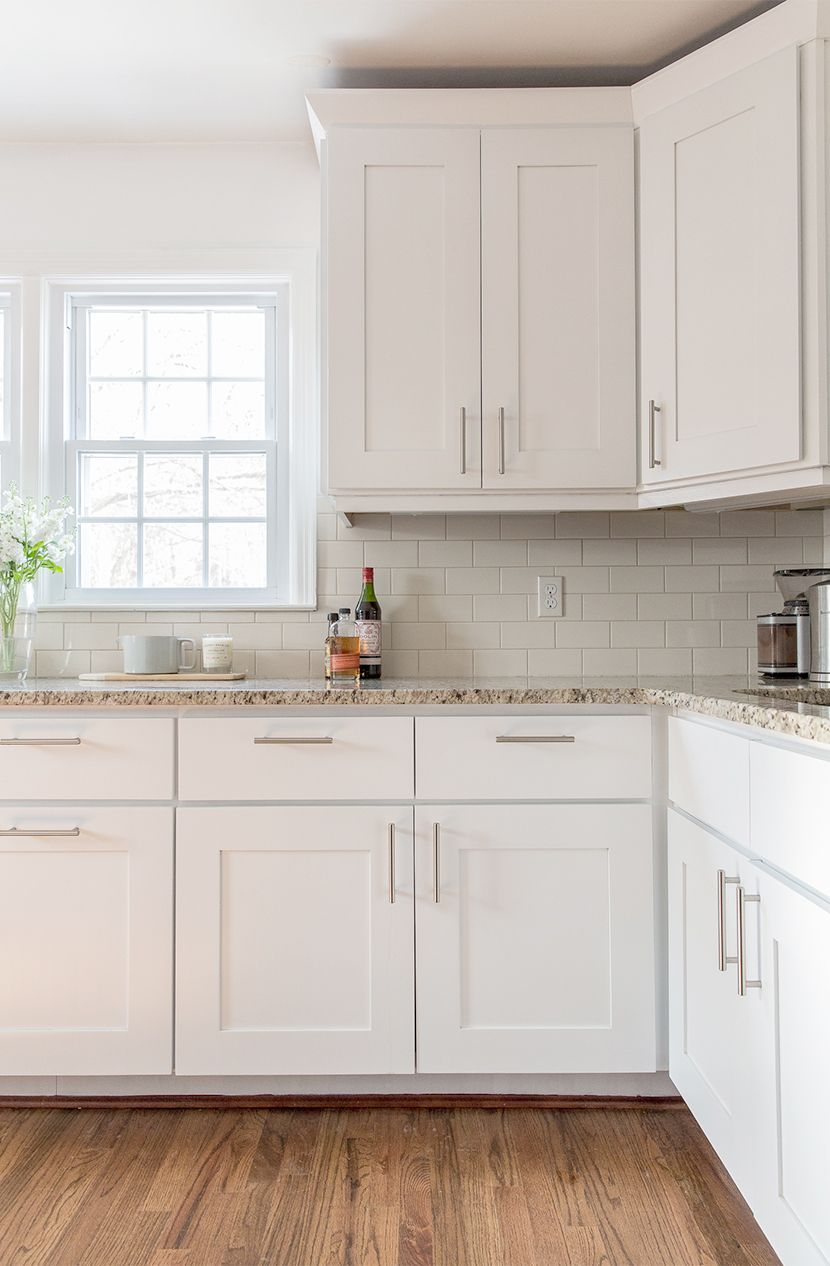 white kitchen cabinets a simple kitchen update | the fresh exchange - behru0027s ultra AVKJESB