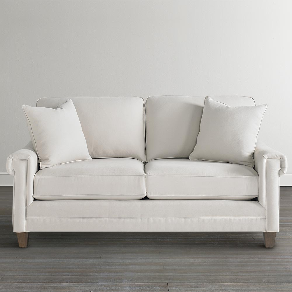 Flamboyant White Sofa For An Exquisite Living Darbylanefurniture Com