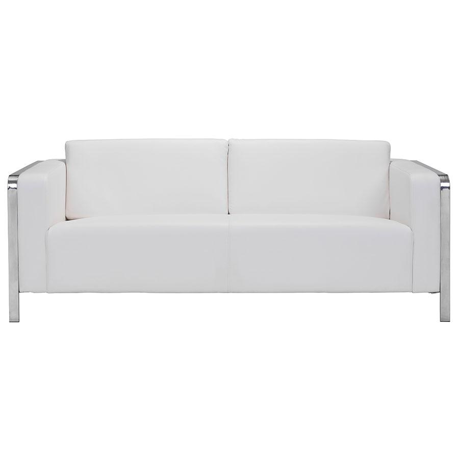 white sofa terzo white modern sofa; terzo white contemporary sofa ... QELDSBO