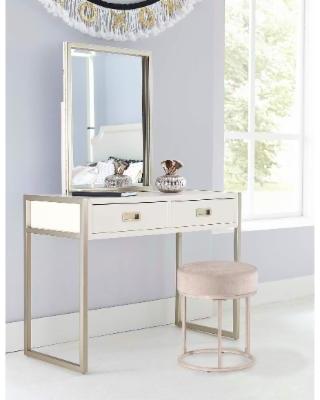 white vanity hillsdale furniture swanson vanity stool, white BMXKZIY