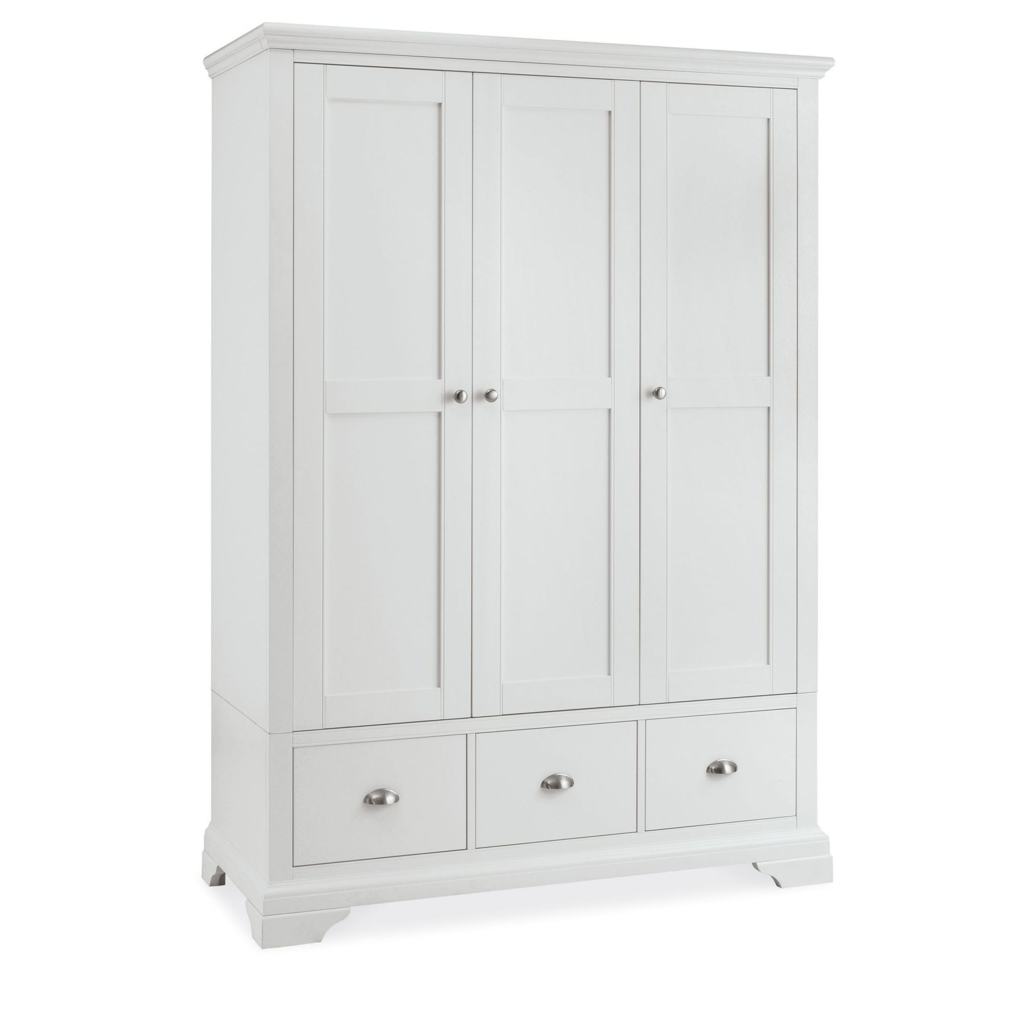 white wardrobes cookes collection camden white triple wardrobe KNEIZIM