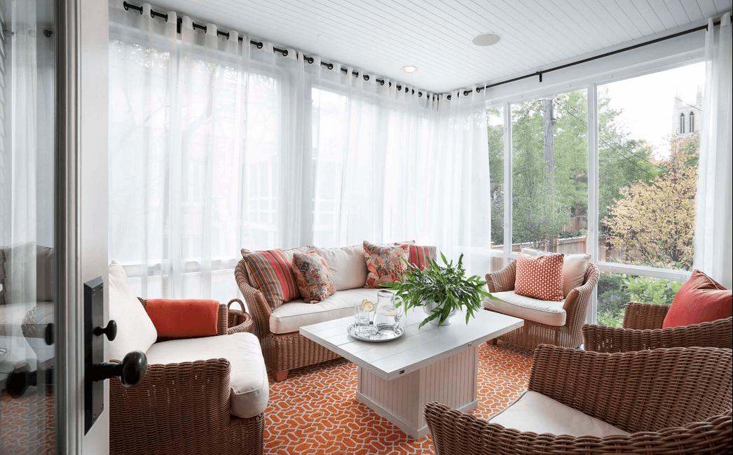 window treatment ideas sheer white wrap around curtains TULJZBI