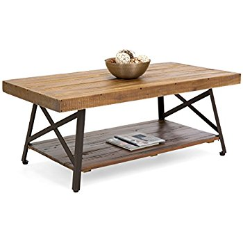 Wood Coffee Table Best Choice Products Cocktail Wooden Coffee Table For  Living Room Den MDDVQZM