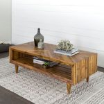 Wood Coffee Table for Classical and Elegant Setting
