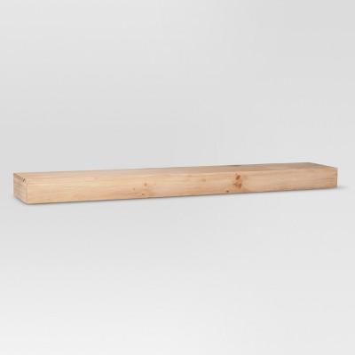 wood shelf real wood floating shelf - 36 OZPMYMQ