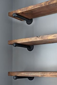 wood shelf rustic wood shelving and furniture | community post: how to create YVEKSAG
