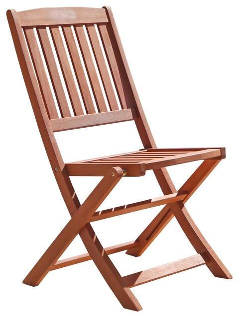 wooden folding chairs outdoor wood folding bistro chairs, set of 2 HAGWEEW