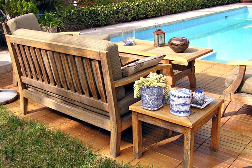 wooden patio furniture dining room excellent wood patio set home site throughout tables modern OYVQZZP
