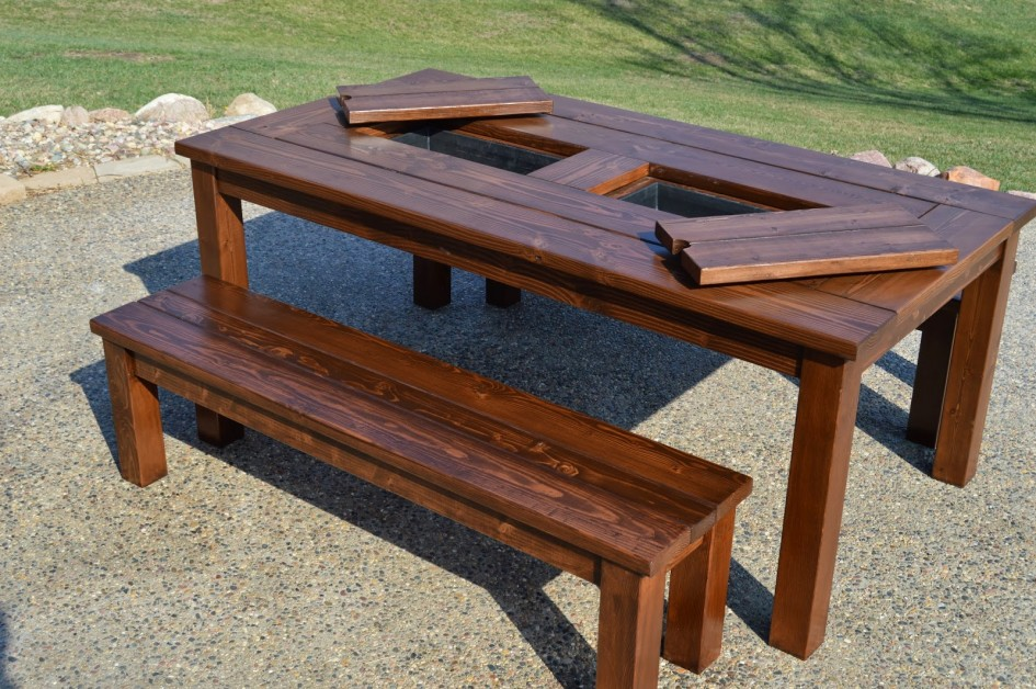 wooden patio furniture round wood patio table with wood patio table wood patio table AMLKHNG