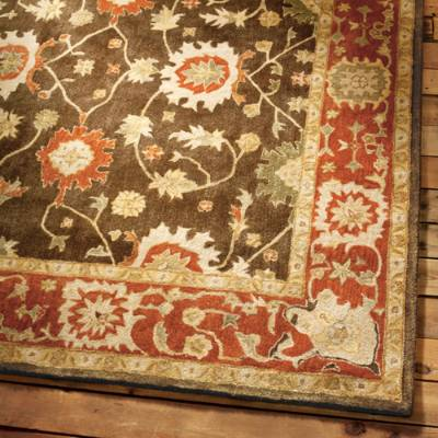 wool area rugs deerfield wool area rug | grandin road REHQKHI