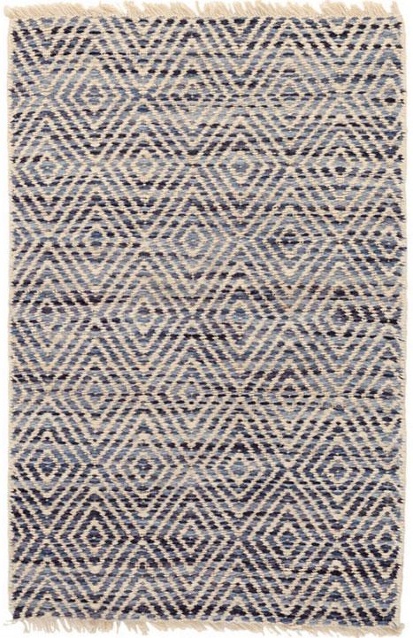 woven rugs dash and albert jewel blue jute woven rug EYLHTBV