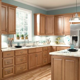 ziemlich honey oak kitchen cabinets - brawny and beautiful! donu0027t let RZRDVQA