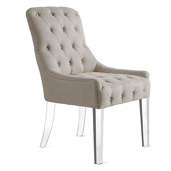 Jen Dining Chair - Acrylic | Dining Chairs | Dining Room Chairs