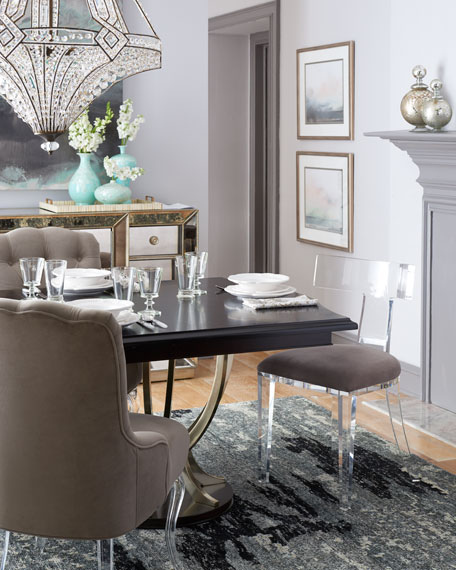 Interlude Home Nessy Acrylic Dining Chair | Neiman Marcus