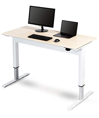 Adjustable height office desks help to   maintain health