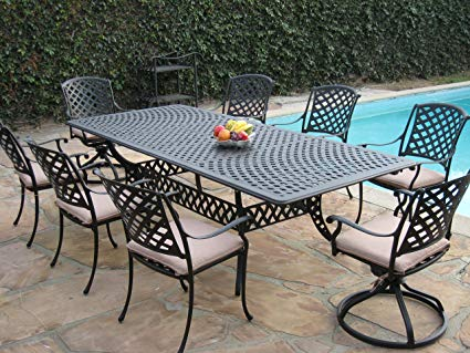 Image Unavailable. Image not available for. Color: Cast Aluminum Outdoor  Patio Furniture