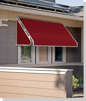 Awnings   Aluminum Window Awnings USA   Sunbrella Fabric Window