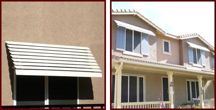 Custom Aluminum Awnings for Patios, Windows & Balconies Riverside