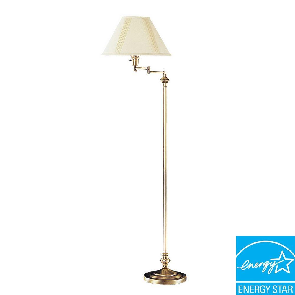 Antique brass swing arm table lamp – a   stylish & elegant accessory for your home