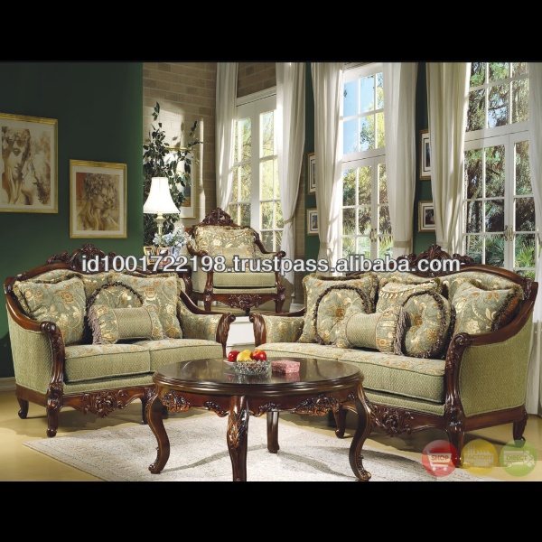 French Style Antique Living Room Sofa Set Nfls30 - Buy French Style