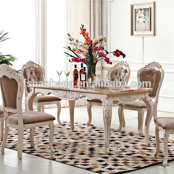 Luxury Antique French Provincial Home Dining Room Furniture - Buy