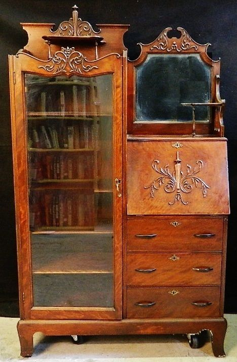 Your guide to buy the right santique   secretary desk with hutch