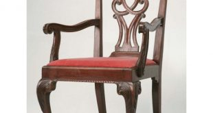 Antique English Chippendale Armchair