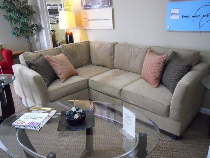 Living Room: Winsome Apartment Size Sectional Sofa For Your Home