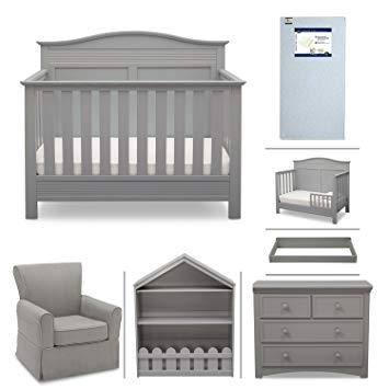 Amazon.com: Serta Barrett 7-Piece Nursery Furniture Set