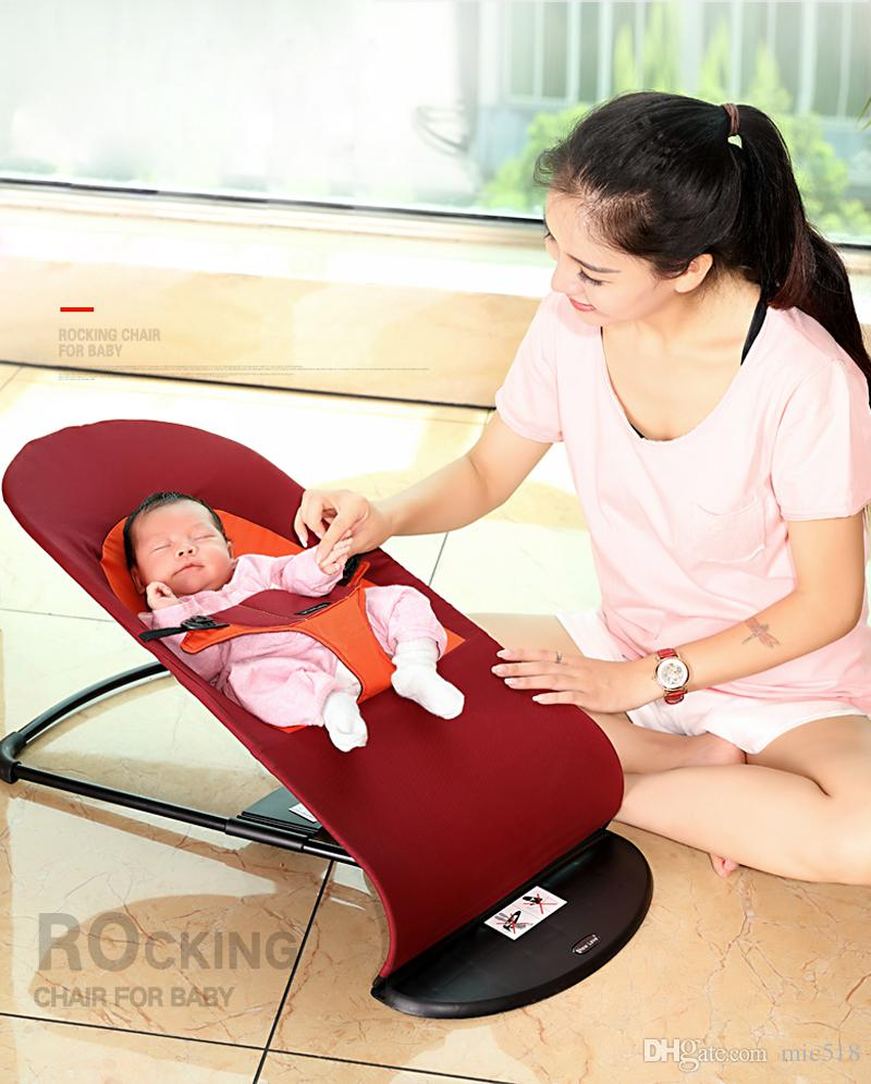 2019 2018 New Style Newborns Folding Bed Baby Rocking Chair Cradles Bed  Portable Balance Chair Baby Bouncer Infant Rocker From Mic518, $40.21 |  Traveller Location