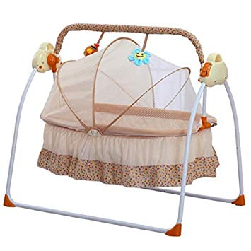 Baby Cradles by Feiuruhf,Baby Cradles Bed Electric Baby Crib Cradle Auto Rocking  Chair Newborns
