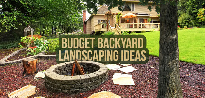10 Ideas for Backyard Landscaping on a Budget | Budget Dumpster