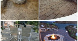 27 amazing stamped concrete patio ideas
