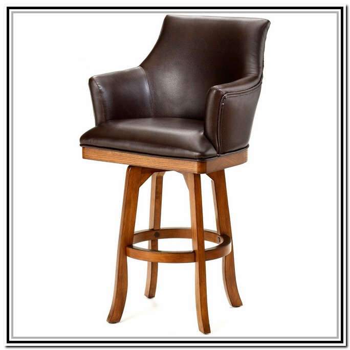 Incredible Swivel Bar Stools With Backs And Arms Swivel Bar Stools With Arms  And Back Home Design Ideas