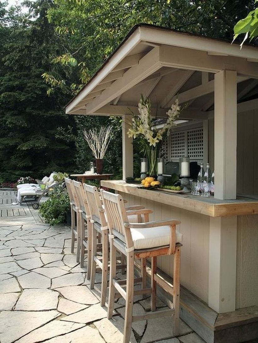 Amazing 50 Outdoor Mini Bar Ideas In Your Backyard http://Traveller Location