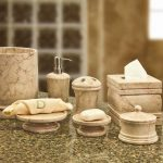 Get a new look of bathroom with elegant   bathroom decor sets