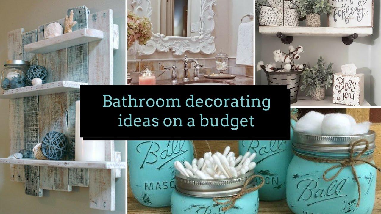 DIY Bathroom decorating ideas on a budget ?| Home decor & Interior design  | Flamingo Mango