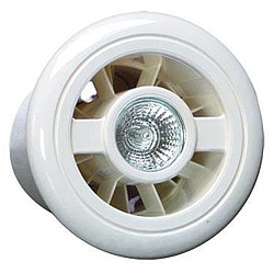 Closeup of the Vent Axia 188110 Luminaire L Extractor Fan
