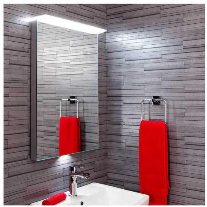 Illuminated Bathroom Mirrors with LED or Lights - Plumbworld